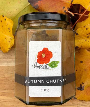 Our delicious autumn chutney