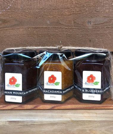Our jams and marmalades gift pack