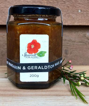 Our Burnt Mandarin & Geraldton Wax Jam
