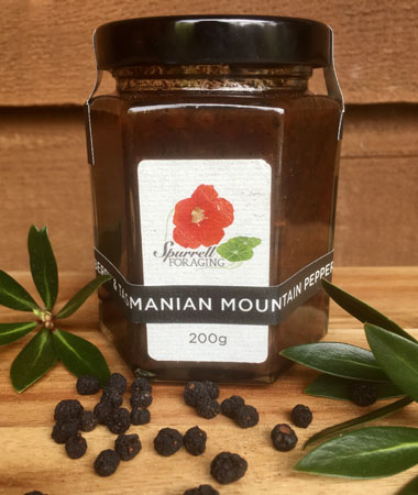 Our strawberry and Tasmanian Mountain Pepper Jam