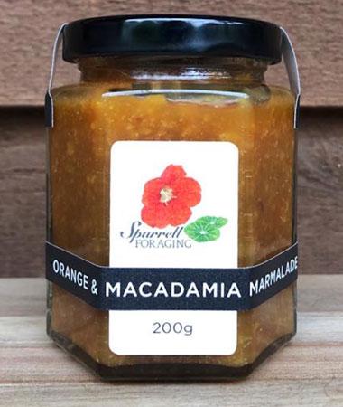 Our Orange and Macadamia Marmalade