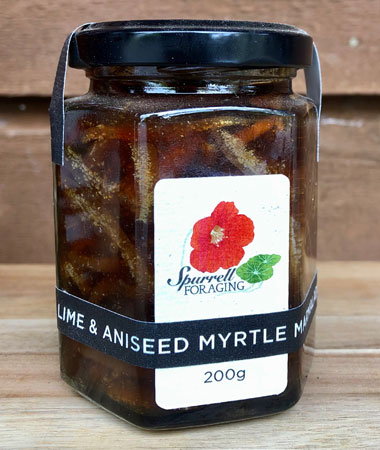 Our Tahitian lime and aniseed myrtle marmalade