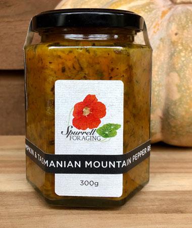Our Pumpkin & Tasmanian Mountain Pepper Relish