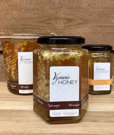 Vyvian's Honeycomb in Raw Honey